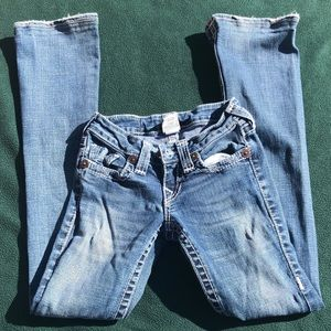 True Religion boot cut jeans size 24